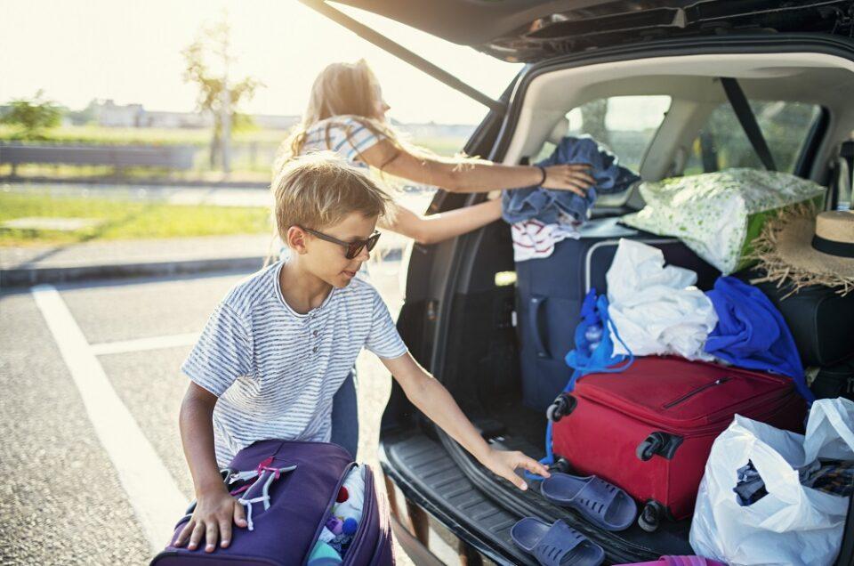 pakowanie samochodu na wyjazd